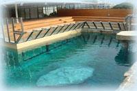 building and constructing private or public aquariums